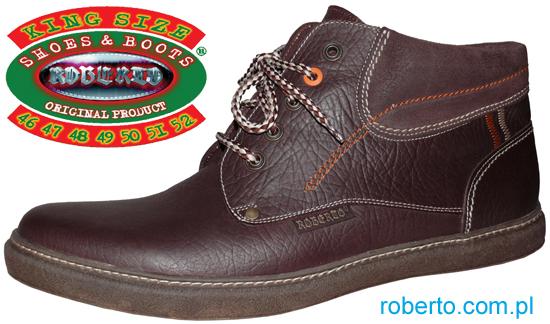 1b891c6c OBUWIE ZIMOWE > Duże buty męskie > Producent obuwia - ROBERTO